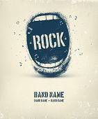 image of rocking  - Rock music poster - JPG