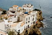 foto of spurs  - View of old city of Eivissa  - JPG
