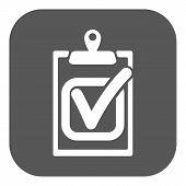image of tasks  - The checklist icon - JPG