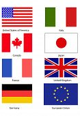 pic of japanese flag  - Flags of the G8 countries - JPG