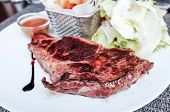 pic of veal meat  - juicy steak veal  - JPG