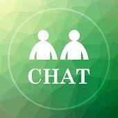 Постер, плакат: Chat Icon