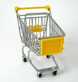Yellow Shopping Trolley