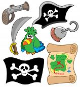 image of cap gun  - Pirate equipment collection  - JPG