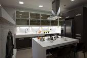 interior of a modern kitchen