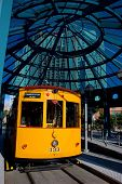 Trolley Stop, Downtown Area, Tampa, Florida