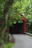 image of covered bridge  - Stonelick  - JPG