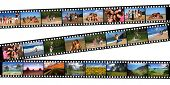 picture of family vacations  - Old 35mm film negatives of a Beautiful Family - JPG