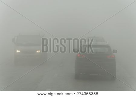 Dense Fog And Poor Visibility