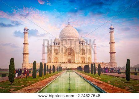 Taj Mahal Indian Symbol and
