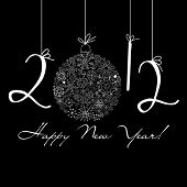stock photo of new years celebration  - 2012 Happy New Year background - JPG