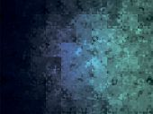 Abstract Dark Teal Background. Blurred Turquoise Water Backdrop. Vector Illustration For Your Graphi poster