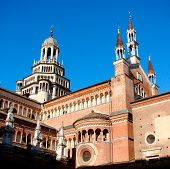 picture of carthusian  - The Certosa di Pavia or Charterhouse of Pavia  - JPG