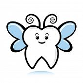 stock photo of tooth-fairy  - A cute tooth fairy - JPG