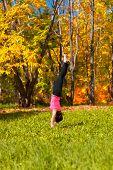 Yoga Adha Mukha Vrikshasana Pose