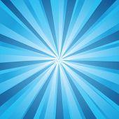 Retro sunburst vector background
