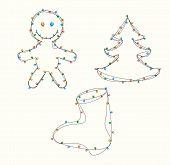 Christmas Lights Figures