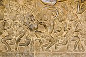 Khmer Battle frieze, Angkor Wat