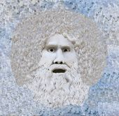 startled abominable snowman