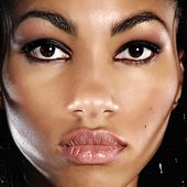 picture of makeup artist  - beautiful African woman - JPG