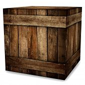 image of wooden crate  - wooden box - JPG