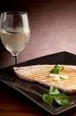 image of swordfish  - grilled swordfish - JPG