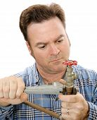 Plumbing Repair Closeup