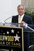 LOS ANGELES - OCT 30:  Les Moonves at the Hollywood Walk of Fame Ceremony for Mark Harmon at Hollywo