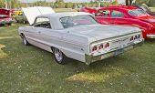 White Chevy Impala Ss
