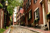 Beacon Hill Cobbled Street