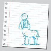 Centaur businessman