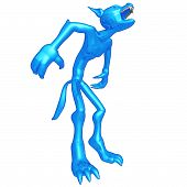 picture of wolfman  - A Concept And Presentation Figure in 3D - JPG