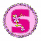 Alphabet Daisy Chain S