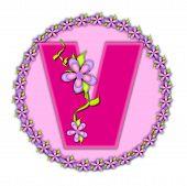 Alphabet Daisy Chain V
