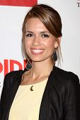 LOS ANGELES - OCT 2:  Torrey Devitto arrives at the Empire US for iPad Launch at Sunset Tower Hotel