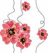 Seamless Floral Background Design