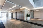 Corridor In Business Centre