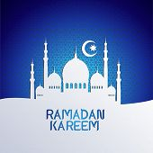 picture of hari  - ramadan backgrounds vector - JPG