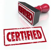 A red stamp gives you the seal of approval for offical verification of your document, company or pro