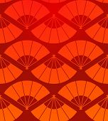 Orient Fan Pattern
