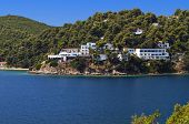 Skiathos island in Greece
