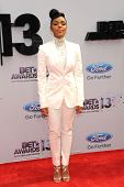 LOS ANGELES - JUN 30: Janelle Monae at the 2013 BET Awards at Nokia Theater L.A. Live on June 30, 20