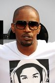 LOS ANGELES - JUN 30: Jamie Foxx at the 2013 BET Awards at Nokia Theater L.A. Live on June 30, 2013
