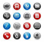 School & Education Icons // Gel Pro Series