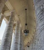Vatican colonnade of Bernini