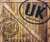 A Wooden Crate Send To Uk.