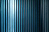 Industrial metallic blue wall background texture