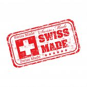 Swiss made rubber stamp