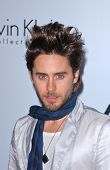Jared Leto at the Calvin Klein Collection Party to Celebrate LA Arts Month, Calvin Klein Store, Los Angeles, CA. 01-28-10