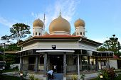 The Mosque On Penang Hill